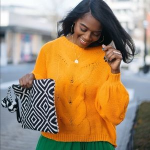 Like new Orange Sweater